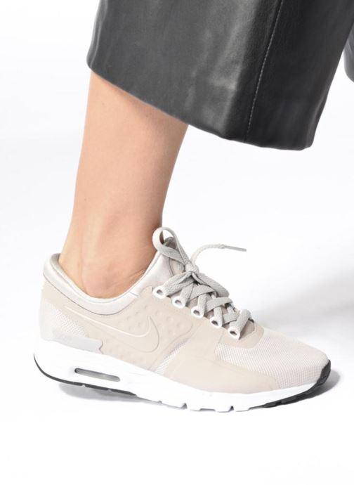 Baskets Nike W Air Max Zero Violet vue bas / vue portée sac