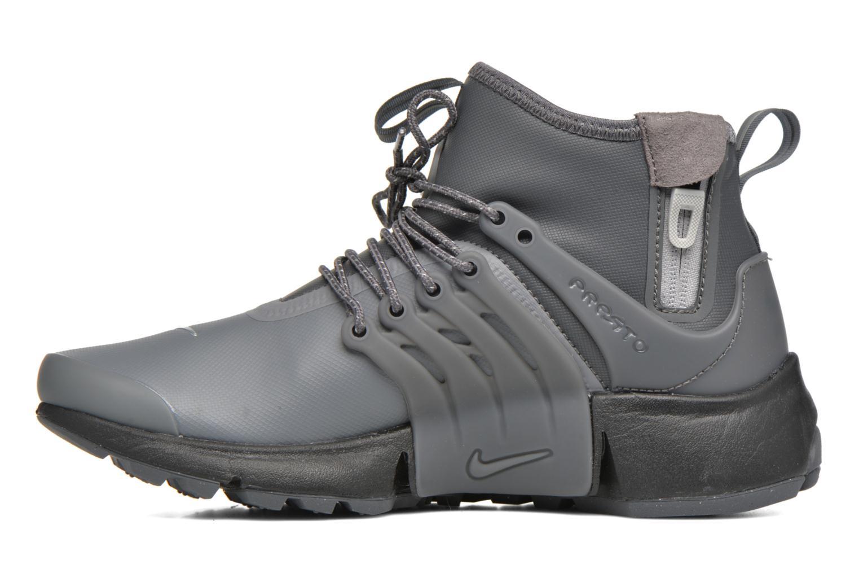 Sneaker Nike W Air Presto Mid Utility grau ansicht von vorne
