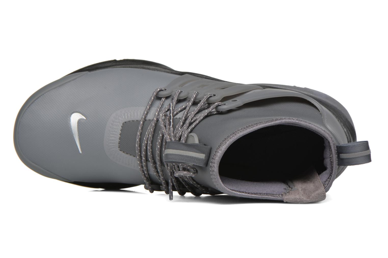 Sneaker Nike W Air Presto Mid Utility grau ansicht von links