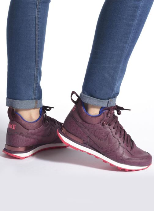 Sneakers Nike W Internationalist Mid Lthr Bordeaux onder