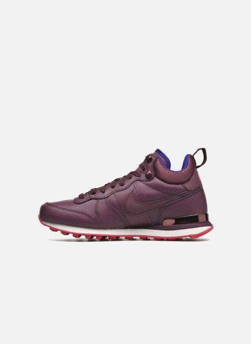 Baskets Nike W Internationalist Mid Lthr Bordeaux vue face