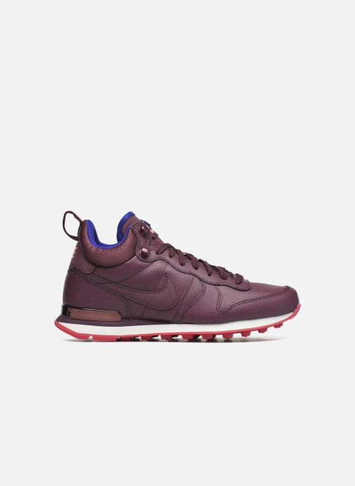 Sneakers Nike W Internationalist Mid Lthr Bordeaux achterkant
