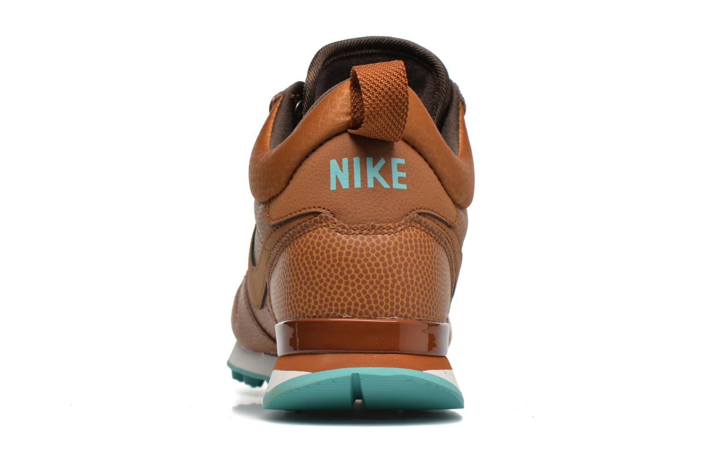Baskets Nike W Internationalist Mid Lthr Marron vue droite