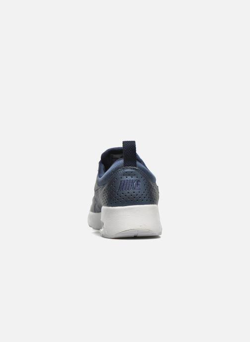 Deportivas Nike W Nike Air Max Thea Se Azul vista lateral derecha
