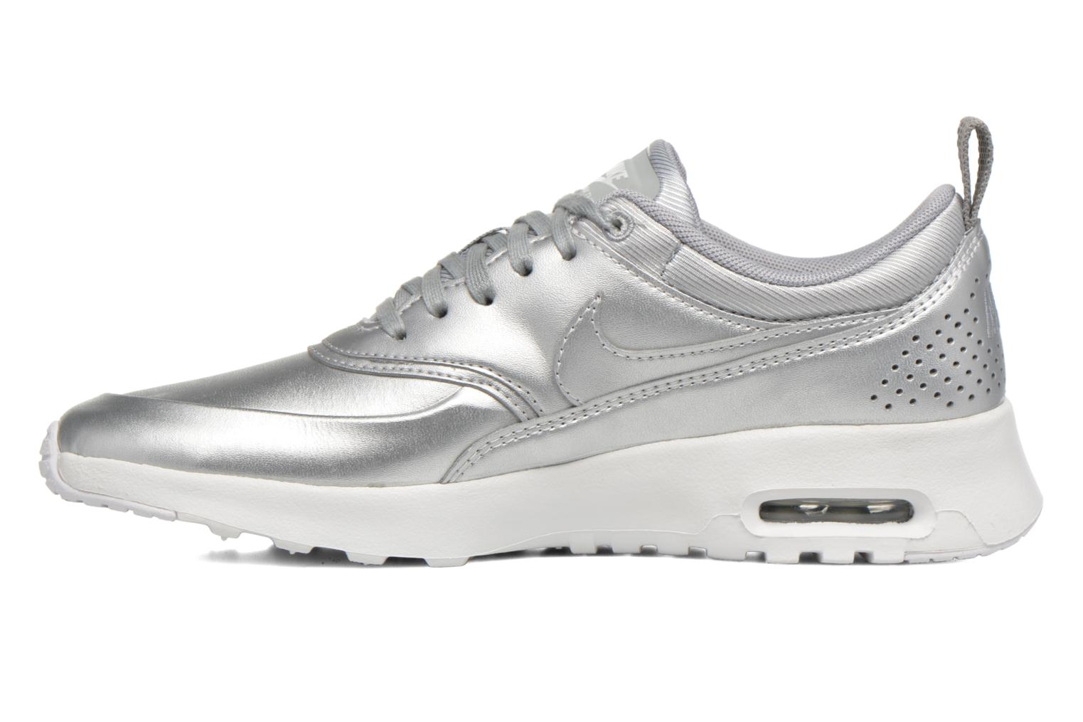 Baskets Nike W Nike Air Max Thea Se Argent vue face