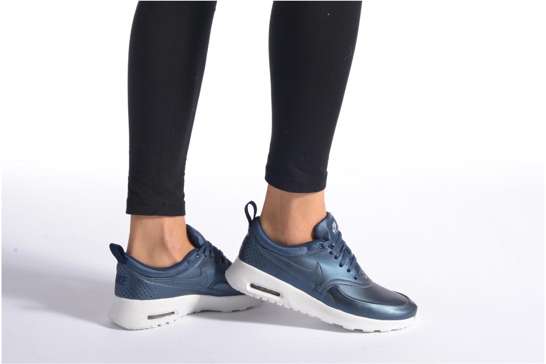 Sneaker Nike W Nike Air Max Thea Se blau ansicht von unten / tasche getragen