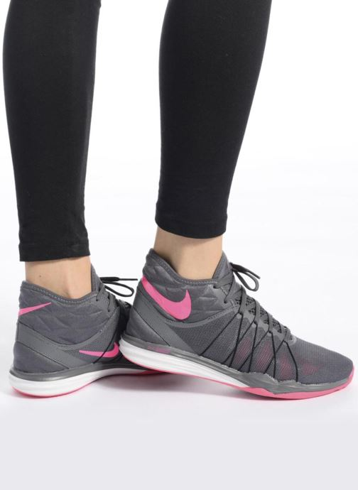 Nike W Nike Dual Fusion Tr Hit Mid (Gris) Chaussures de