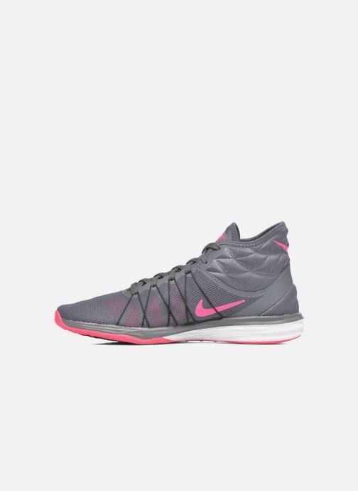 Chaussures de sport Nike W Nike Dual Fusion Tr Hit Mid Gris vue face