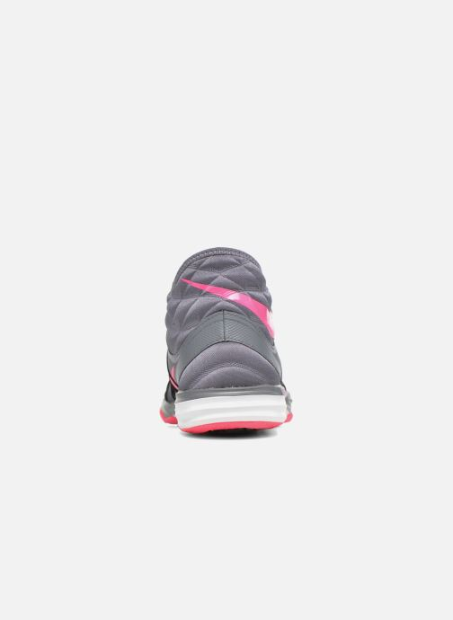 Zapatillas de deporte Nike W Nike Dual Fusion Tr Hit Mid Gris vista lateral derecha