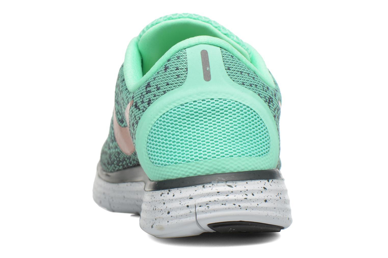 Chaussures de sport Nike W Nike Free Rn Distance Shield Vert vue droite