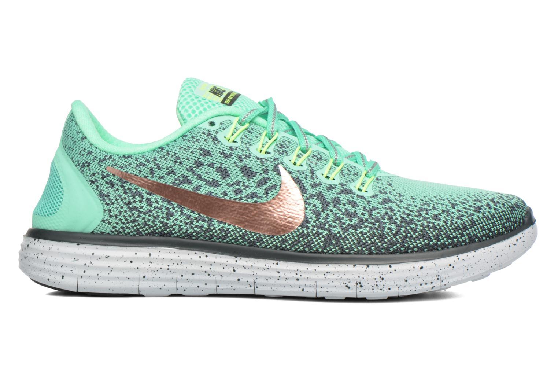 Chaussures de sport Nike W Nike Free Rn Distance Shield Vert vue derrière