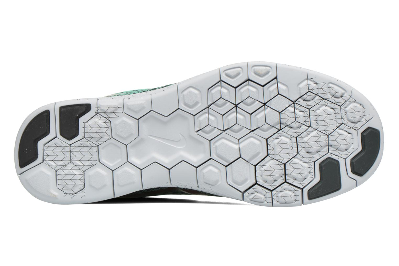 Chaussures de sport Nike W Nike Free Rn Distance Shield Vert vue haut