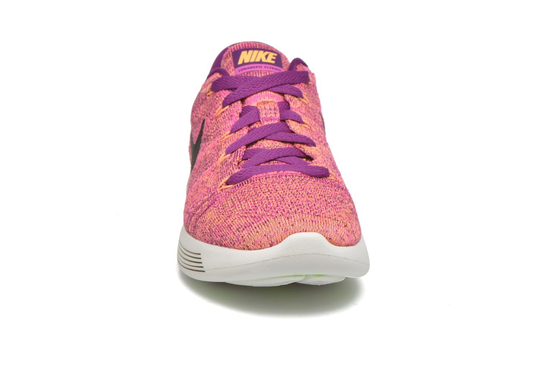 Sportschuhe Nike W Nike Lunarepic Low Flyknit lila schuhe getragen