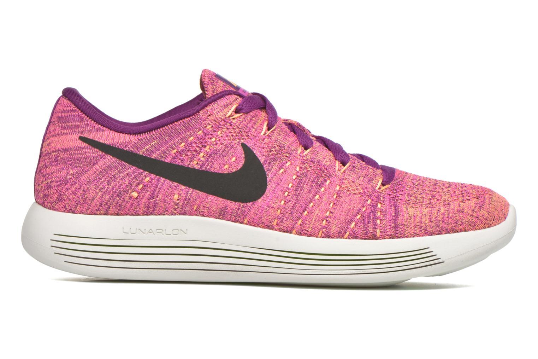 Sportschuhe Nike W Nike Lunarepic Low Flyknit lila ansicht von hinten