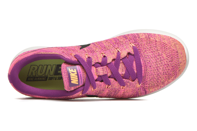 Sportschuhe Nike W Nike Lunarepic Low Flyknit lila ansicht von links