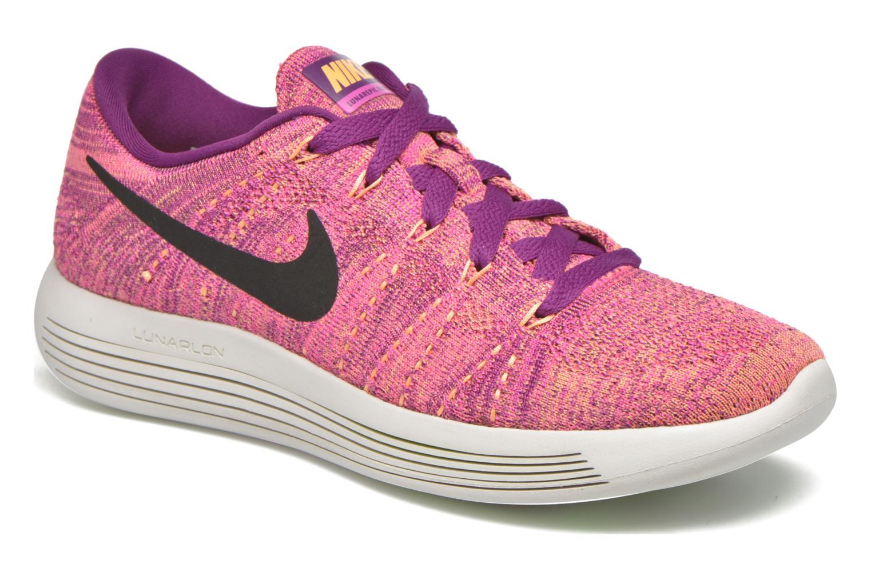 Sportschuhe Nike W Nike Lunarepic Low Flyknit lila detaillierte ansicht/modell
