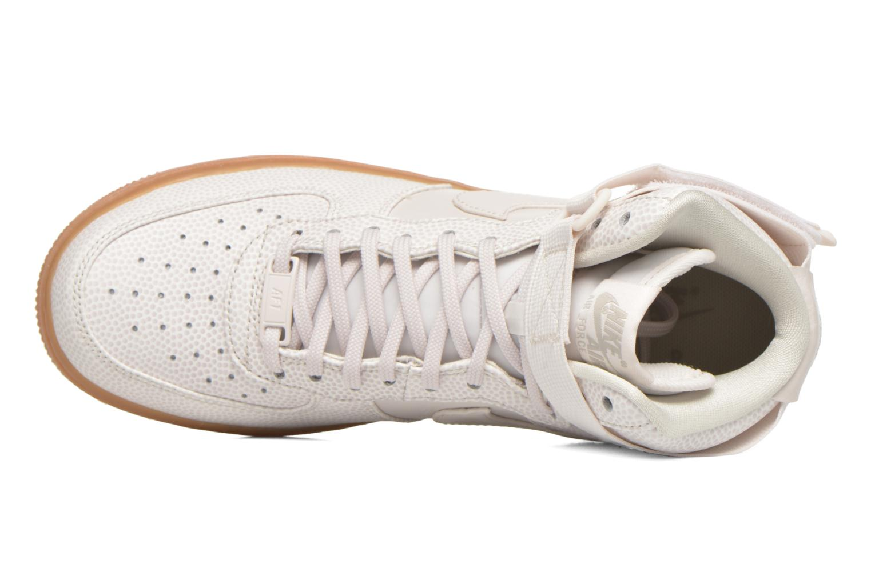 Baskets Nike Wmns Air Force 1 Hi Se Noir vue gauche