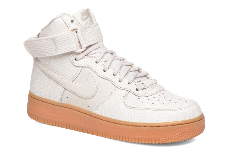 Baskets Nike Wmns Air Force 1 Hi Se Noir vue détail/paire