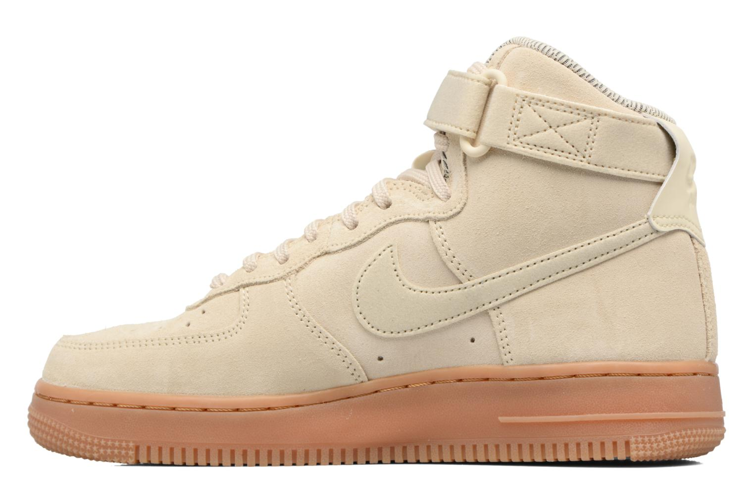 Baskets Nike Wmns Air Force 1 Hi Se Blanc vue face