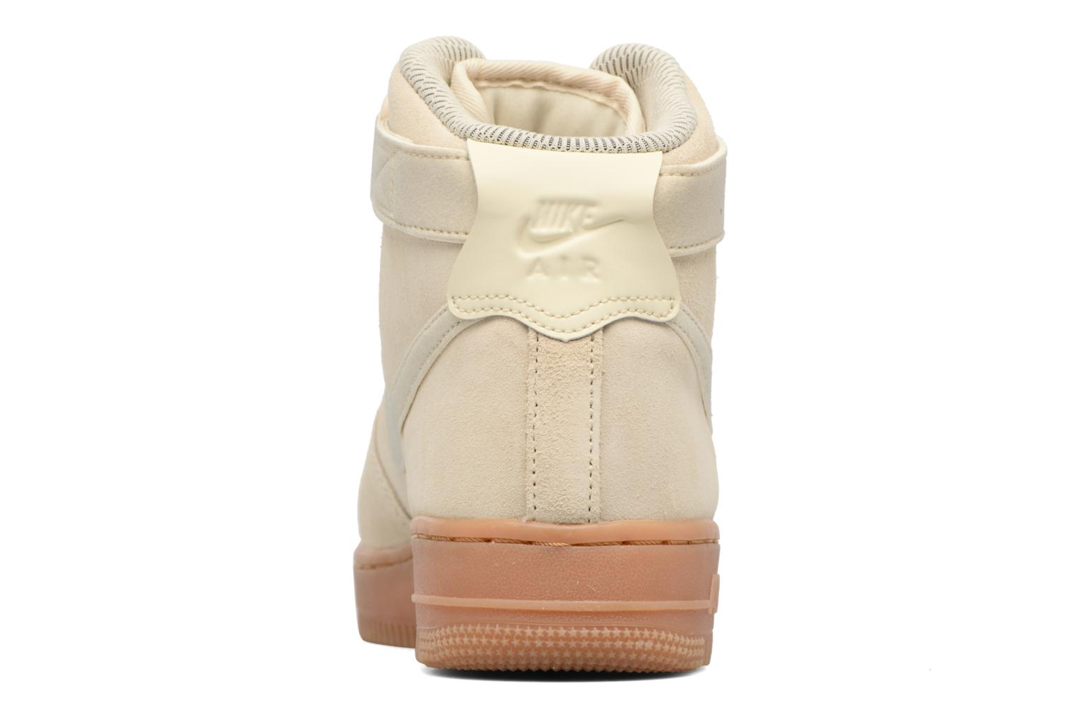 Sneakers Nike Wmns Air Force 1 Hi Se Wit rechts