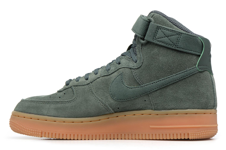 Baskets Nike Wmns Air Force 1 Hi Se Vert vue face