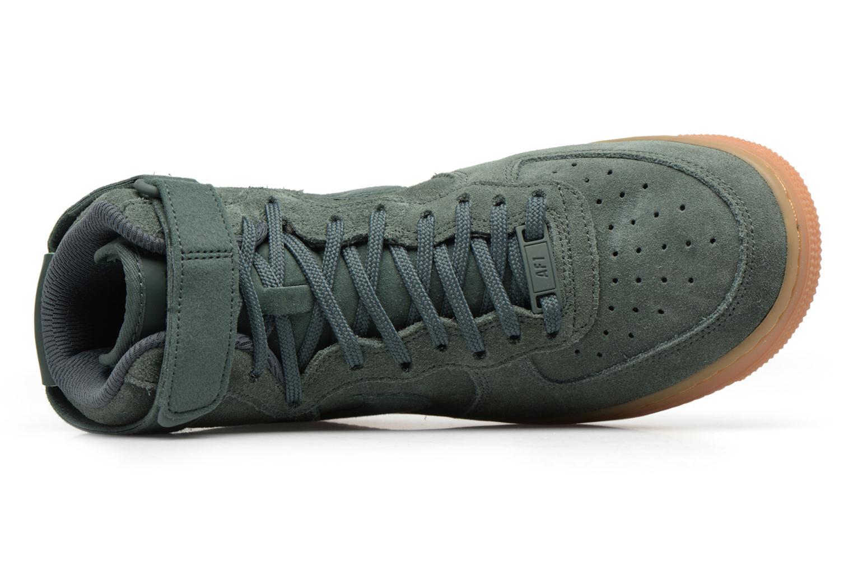 Baskets Nike Wmns Air Force 1 Hi Se Vert vue gauche