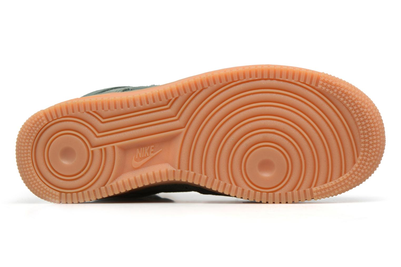 Baskets Nike Wmns Air Force 1 Hi Se Vert vue haut