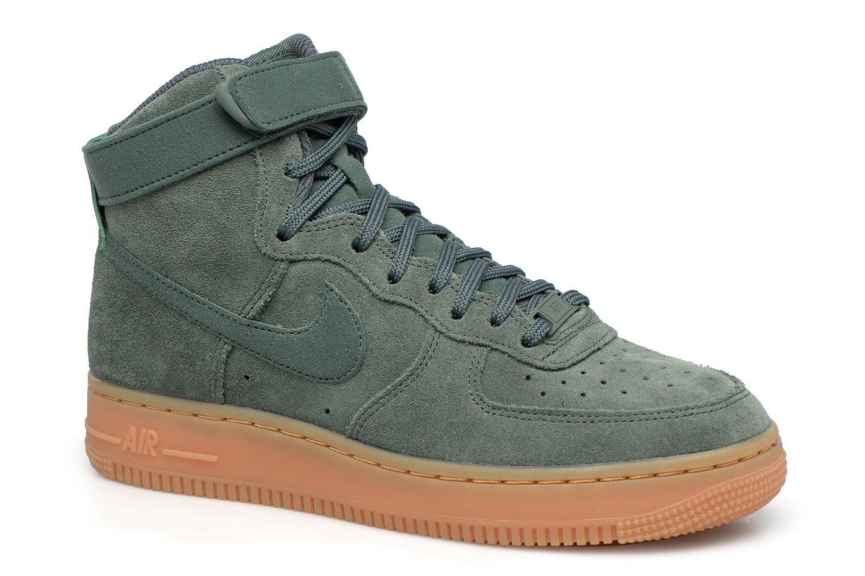 Baskets Nike Wmns Air Force 1 Hi Se Vert vue détail/paire