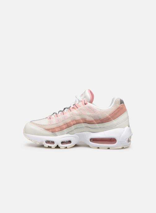Baskets Nike Wmns Air Max 95 Rose vue face