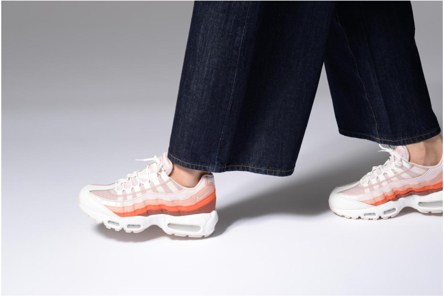 Sneakers Nike Wmns Air Max 95 Rosa immagine dal basso