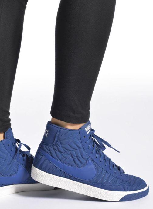 Deportivas Nike Wmns Blazer Mid Prm Se Negro vista de abajo