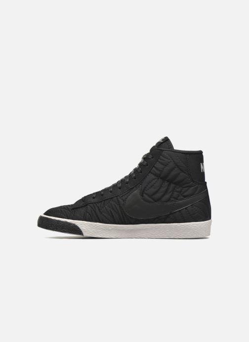 Sneakers Nike Wmns Blazer Mid Prm Se Nero immagine frontale