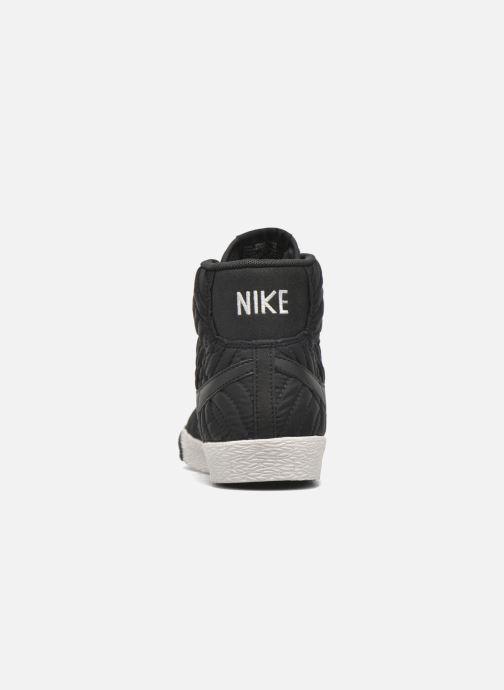 Deportivas Nike Wmns Blazer Mid Prm Se Negro vista lateral derecha