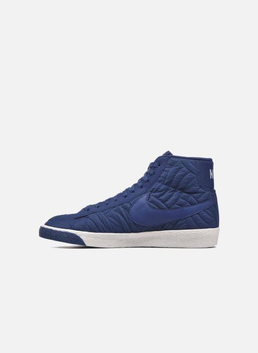 Sneaker Nike Wmns Blazer Mid Prm Se blau ansicht von vorne