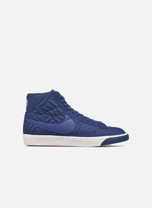 Sneaker Nike Wmns Blazer Mid Prm Se blau ansicht von hinten