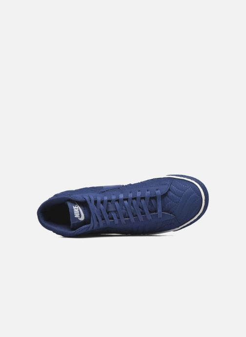 Trainers Nike Wmns Blazer Mid Prm Se Blue view from the left