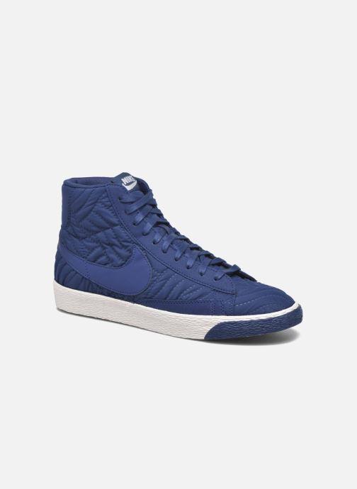 Trainers Nike Wmns Blazer Mid Prm Se Blue detailed view/ Pair view