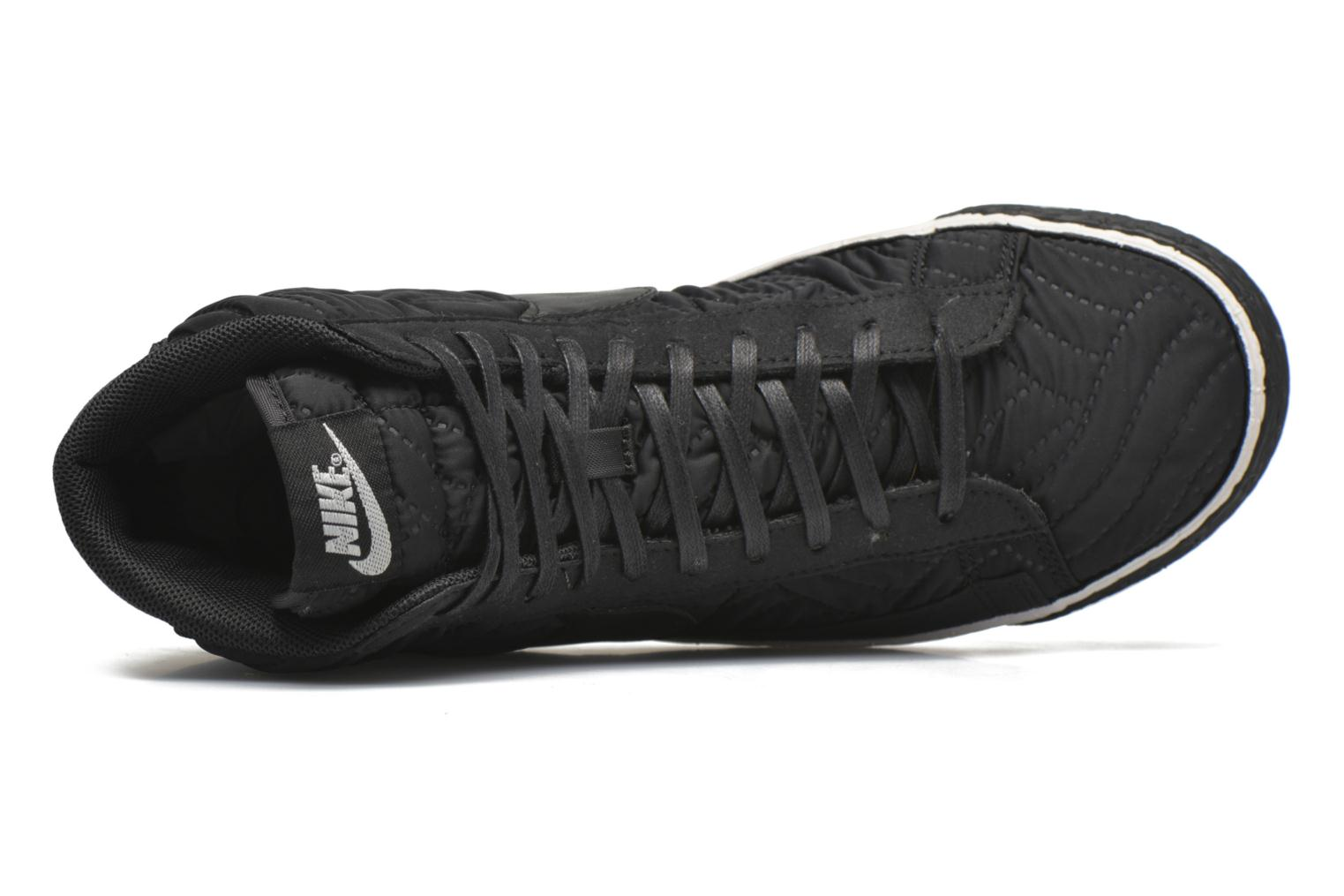 Trainers Nike Wmns Blazer Mid Prm Se Black view from the left