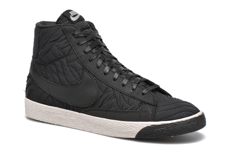 Baskets Nike Wmns Blazer Mid Prm Se Noir vue détail/paire