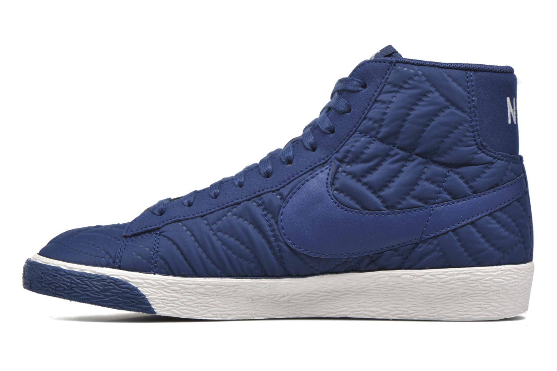 Sneakers Nike Wmns Blazer Mid Prm Se Blå se forfra