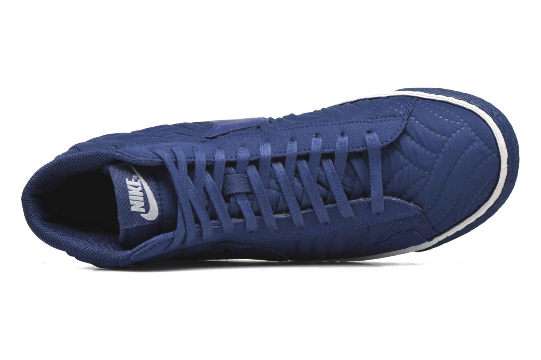 Sneakers Nike Wmns Blazer Mid Prm Se Blå se fra venstre