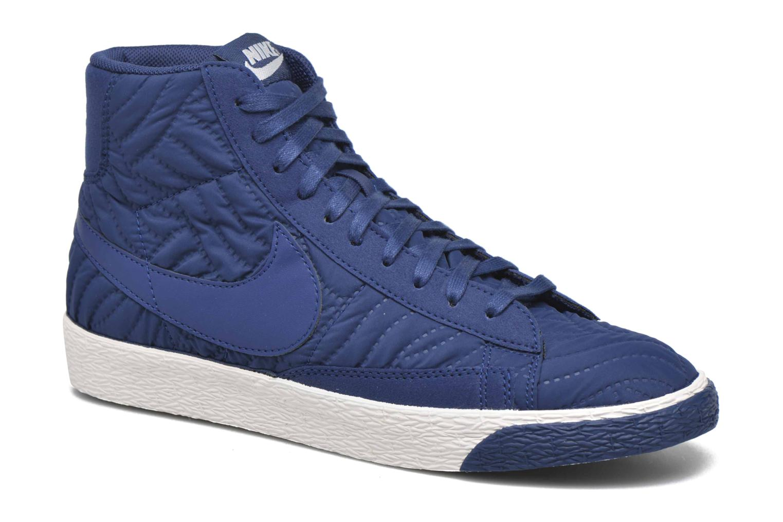 Sneakers Nike Wmns Blazer Mid Prm Se Blå detaljeret billede af skoene