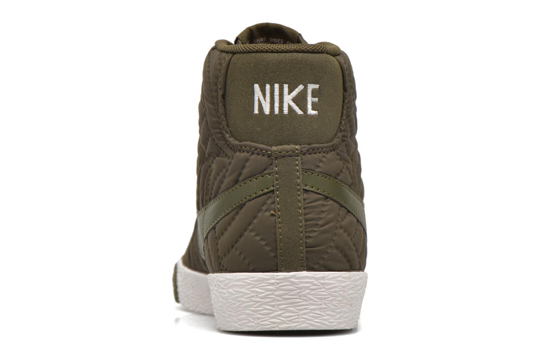 Baskets Nike Wmns Blazer Mid Prm Se Vert vue droite