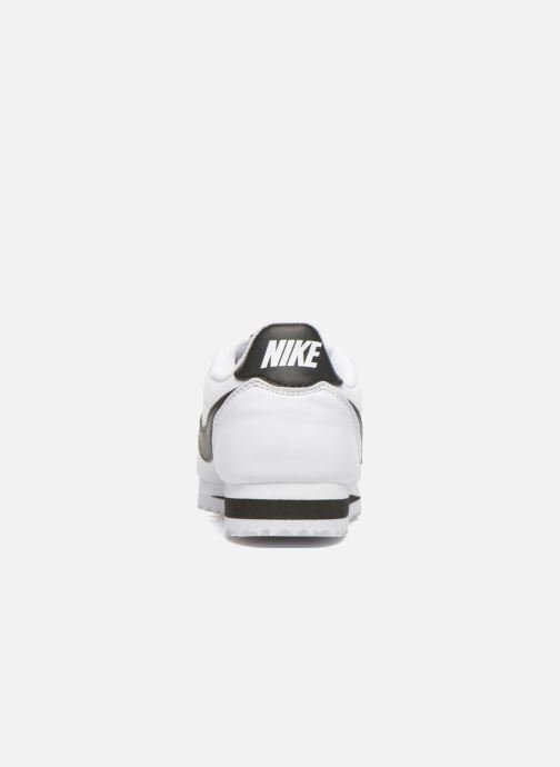 Sneakers Nike Wmns Classic Cortez Leather Bianco immagine destra