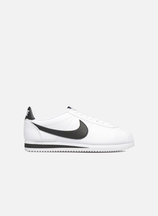 Sneakers Nike Wmns Classic Cortez Leather Bianco immagine posteriore