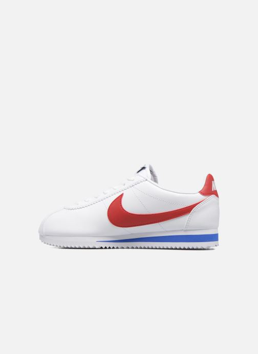 Sneakers Nike Wmns Classic Cortez Leather Wit voorkant