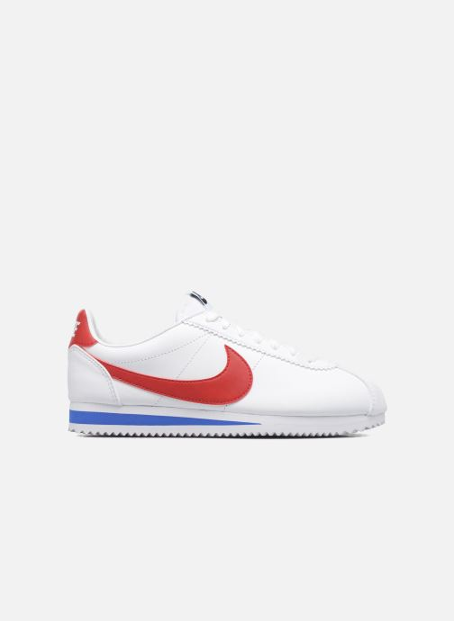 Sneakers Nike Wmns Classic Cortez Leather Wit achterkant