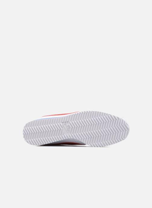 Sneakers Nike Wmns Classic Cortez Leather Bianco immagine dall'alto