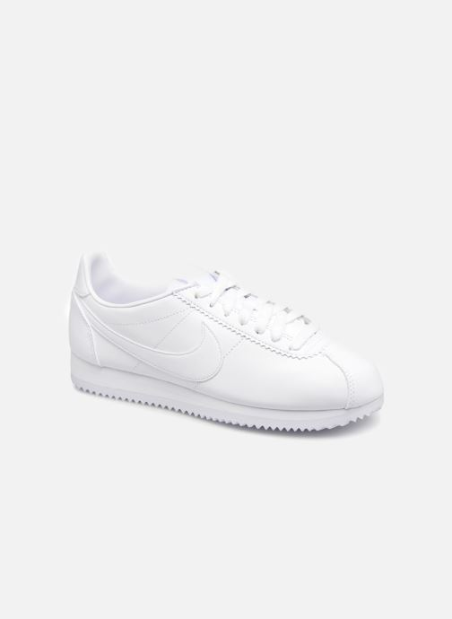 detailed look ea0b9 3d58f Trainers Nike Wmns Classic Cortez Leather White detailed view  Pair view