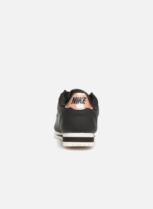 Sneaker Nike Wmns Classic Cortez Leather schwarz ansicht von rechts